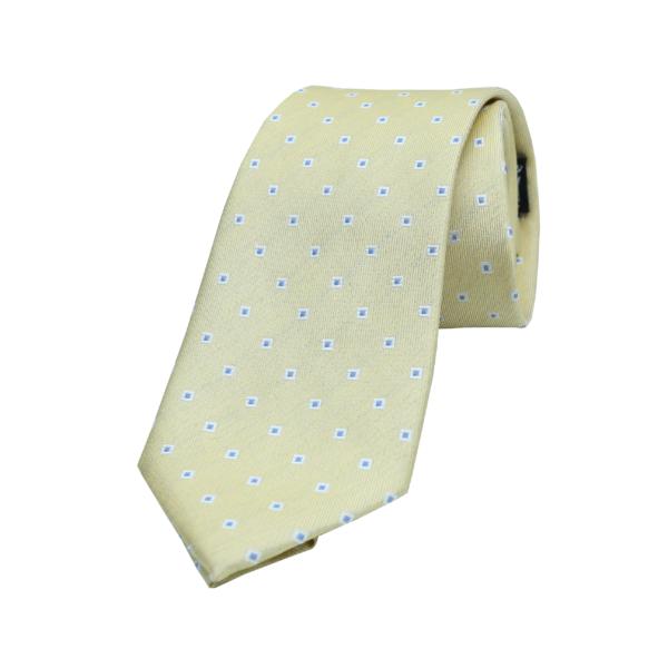 Best-tailor-in-Bangkok-cream-Thai-silk-tie