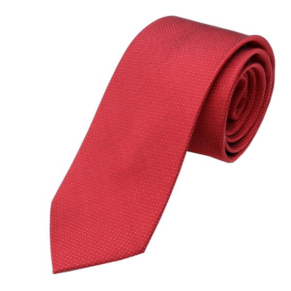 Best tailor in Bangkok red Thai silk tie