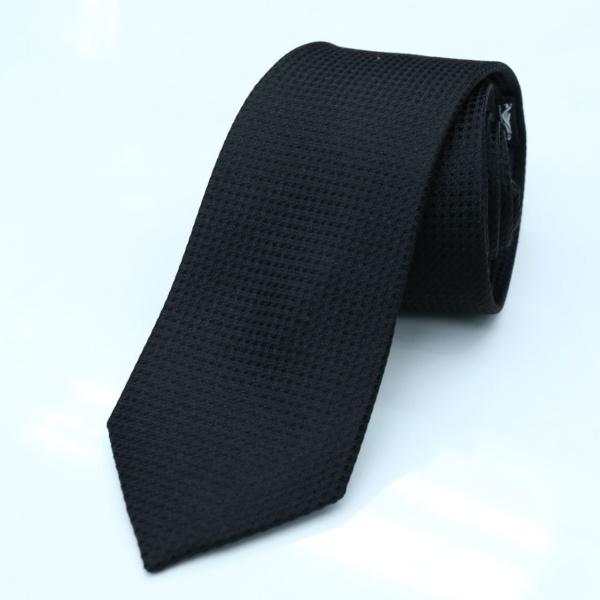 best tailor in Bangkok silk tie black